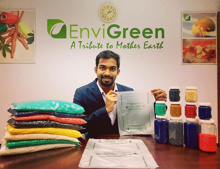 envigreen plastic bag