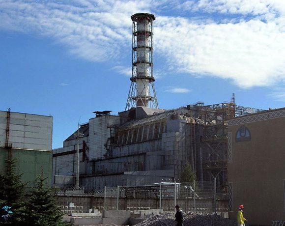 Chernobyl reactor by Carl Montgomery