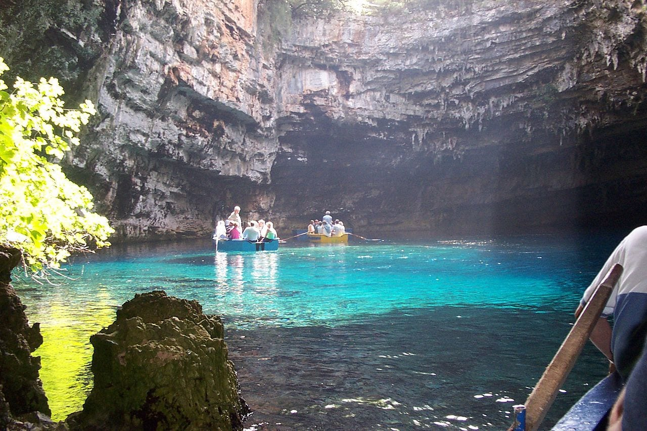 Melissani Lake by Dan Taylor-Watt Flickr