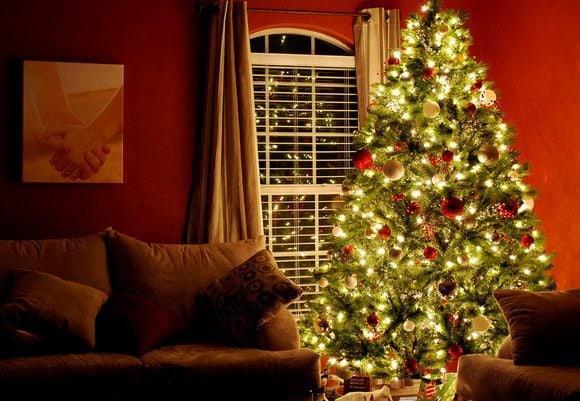 Christmas tree by Donnie Ray Jones