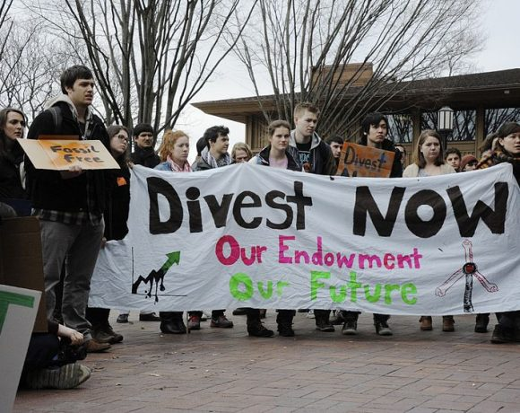 Divest fossil fuel by James Ennis
