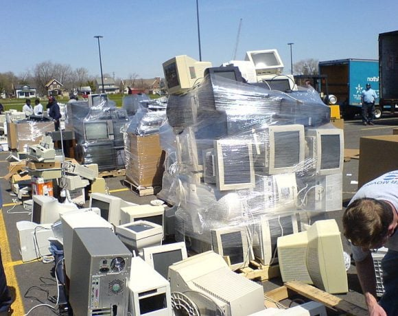 E-Waste Landfill by George Hotelling