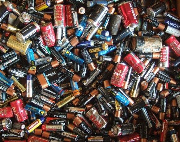 Electric batteries by John Seb Barber