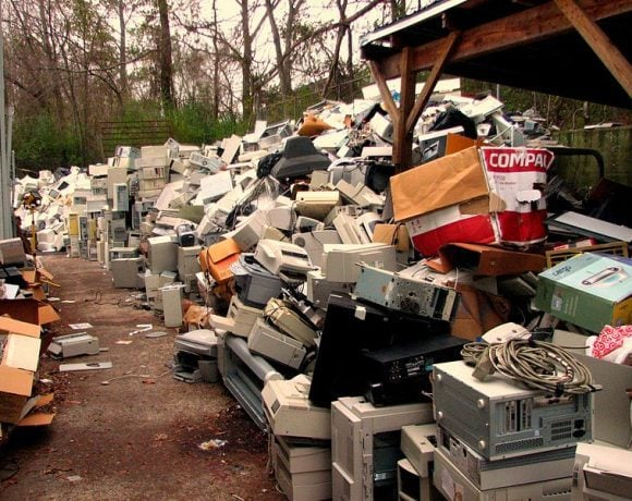 Electronic waste by Curtis Palmer