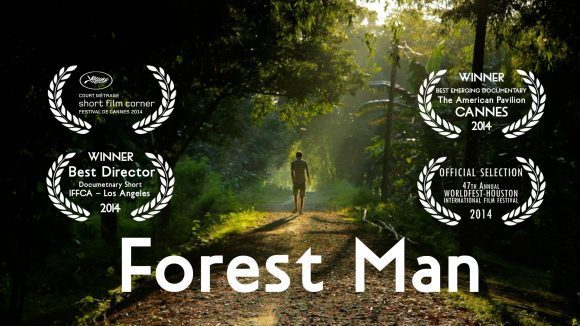 Forest Man Poster