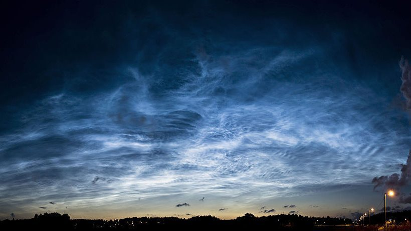 Noctilucent Cloud, The Bluish Beauty In The Twilight
