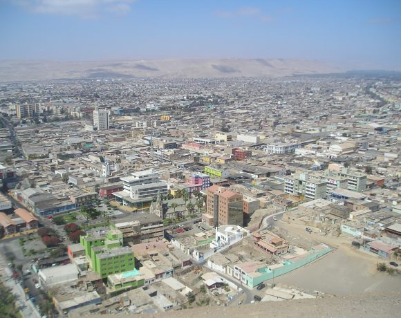 Arica, Chile (Wikimedia Commons)