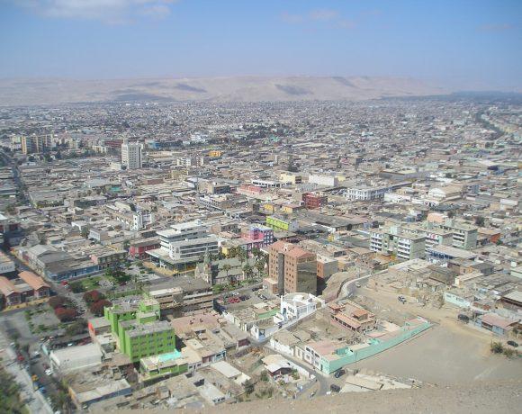 Arica, Chile (Wikimedia Commons)