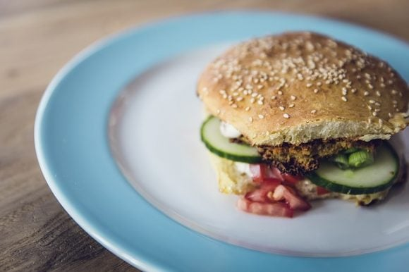 Vegan Vegetarian Vitamins Eat Frisch Burger