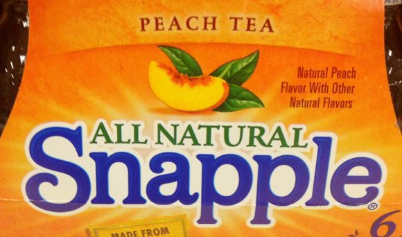 All natural snapple