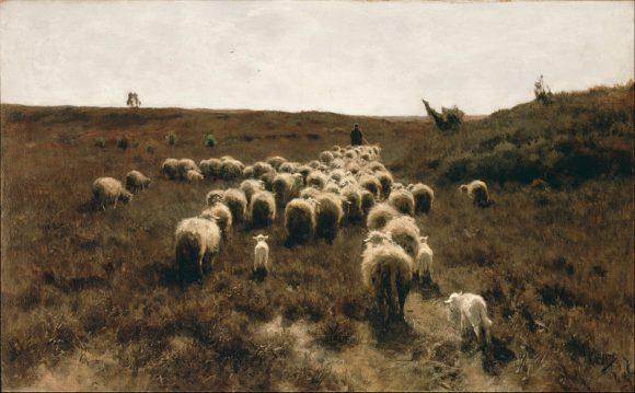 Anton_Mauve_-_The_Return_of_the_Flock,