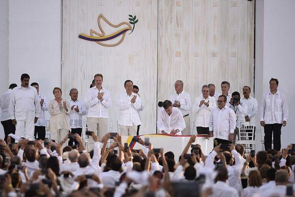 COlombia Peace Treaty (Wikimedia Commons)