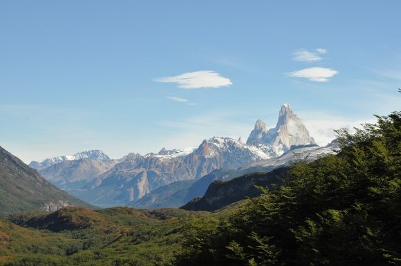 Chile Argentina Mountains Patagonia South America