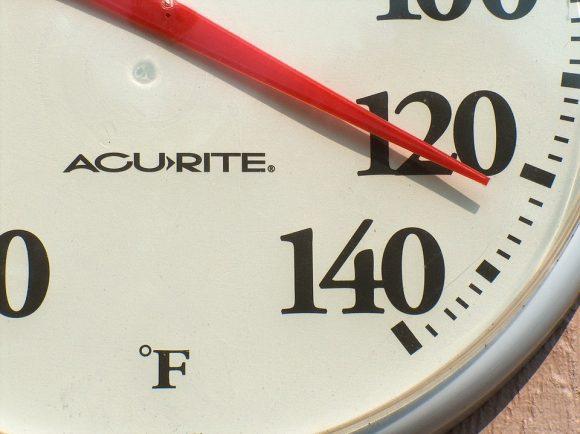 Hot termperature