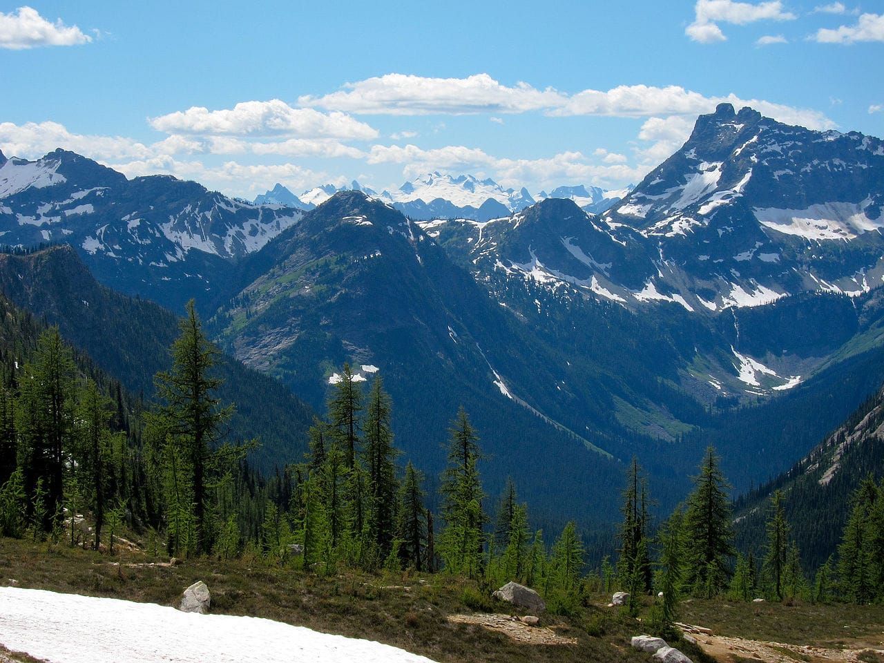 Pacific Crest Trail by Miguel Vieira wikimedia commons
