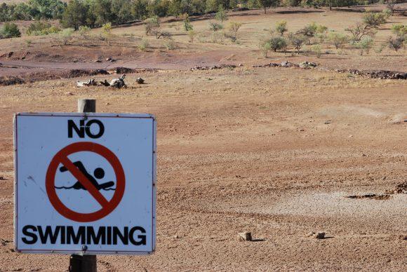 No Swimming (Wikimedia Commons)