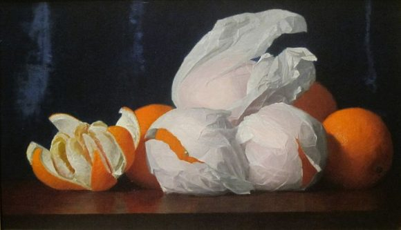 'Oranges_in_Tissue_Paper'_by_William_Joseph_McCloskey,_c._1890
