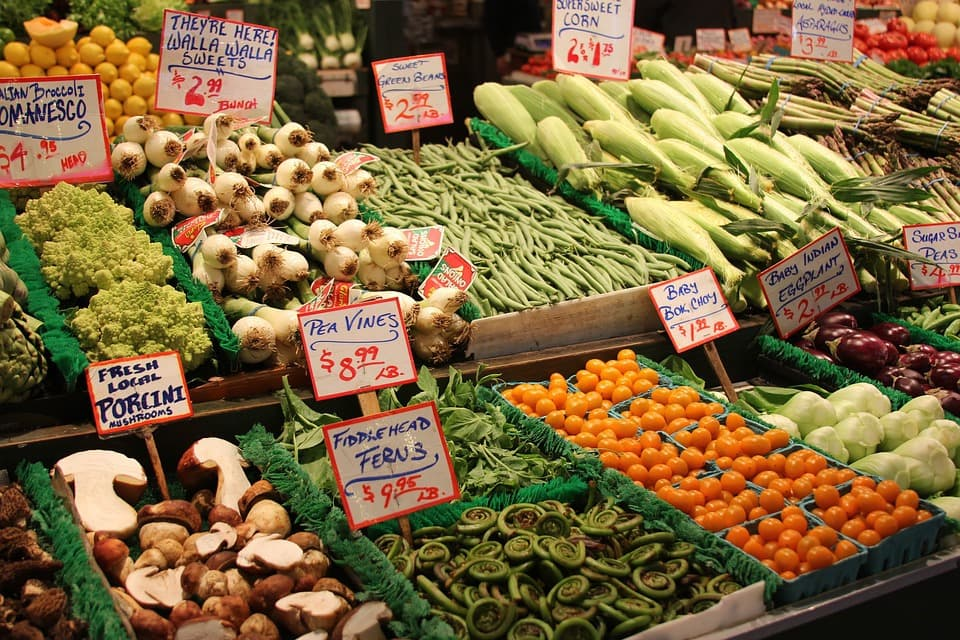 Vegetables Organic Food Green Healthy Market