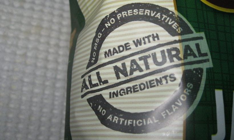 The Misconception About 'Natural' Brands In Products