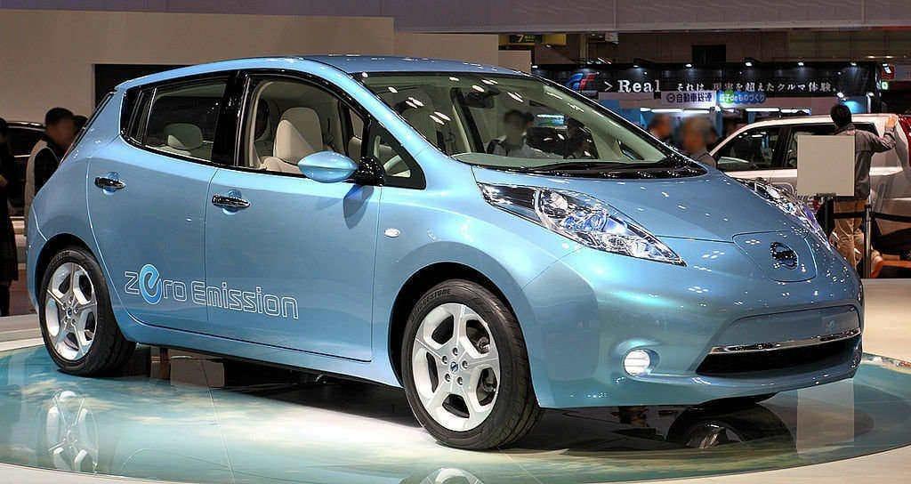Nissan Leaf at Tokyo Motor Show