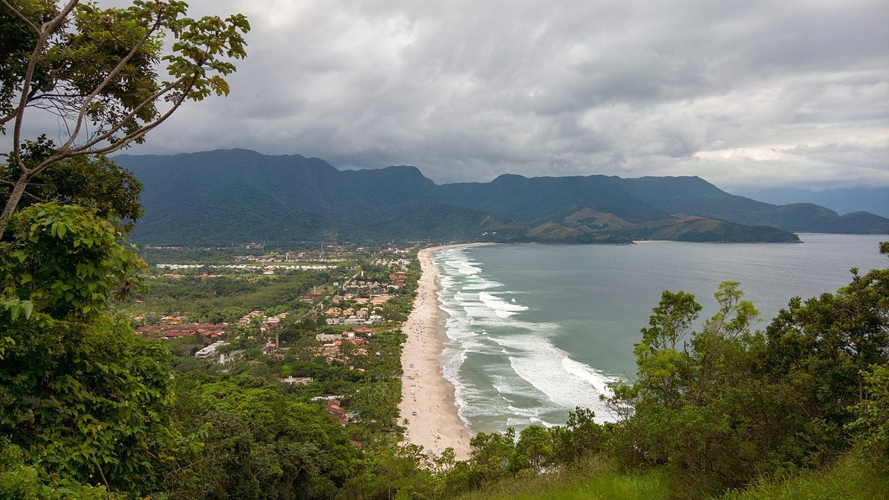 Maresias coastline