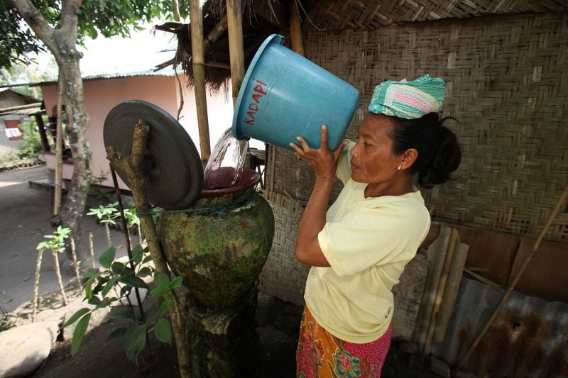 Indonesia water crisis