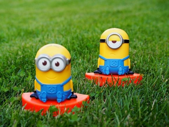 Minion Film Garden Children Movie Minions Rush