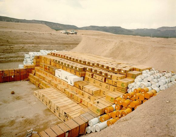 NTS_-_Low-level_radioactive_waste_storage_pit (Wikimedia Commons)