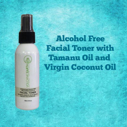 Alcohol-Free-Tamanu Oil Facial-Toner