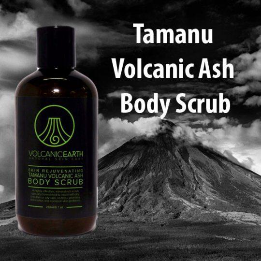 Tamanu Volcanic Ash Body Scrub