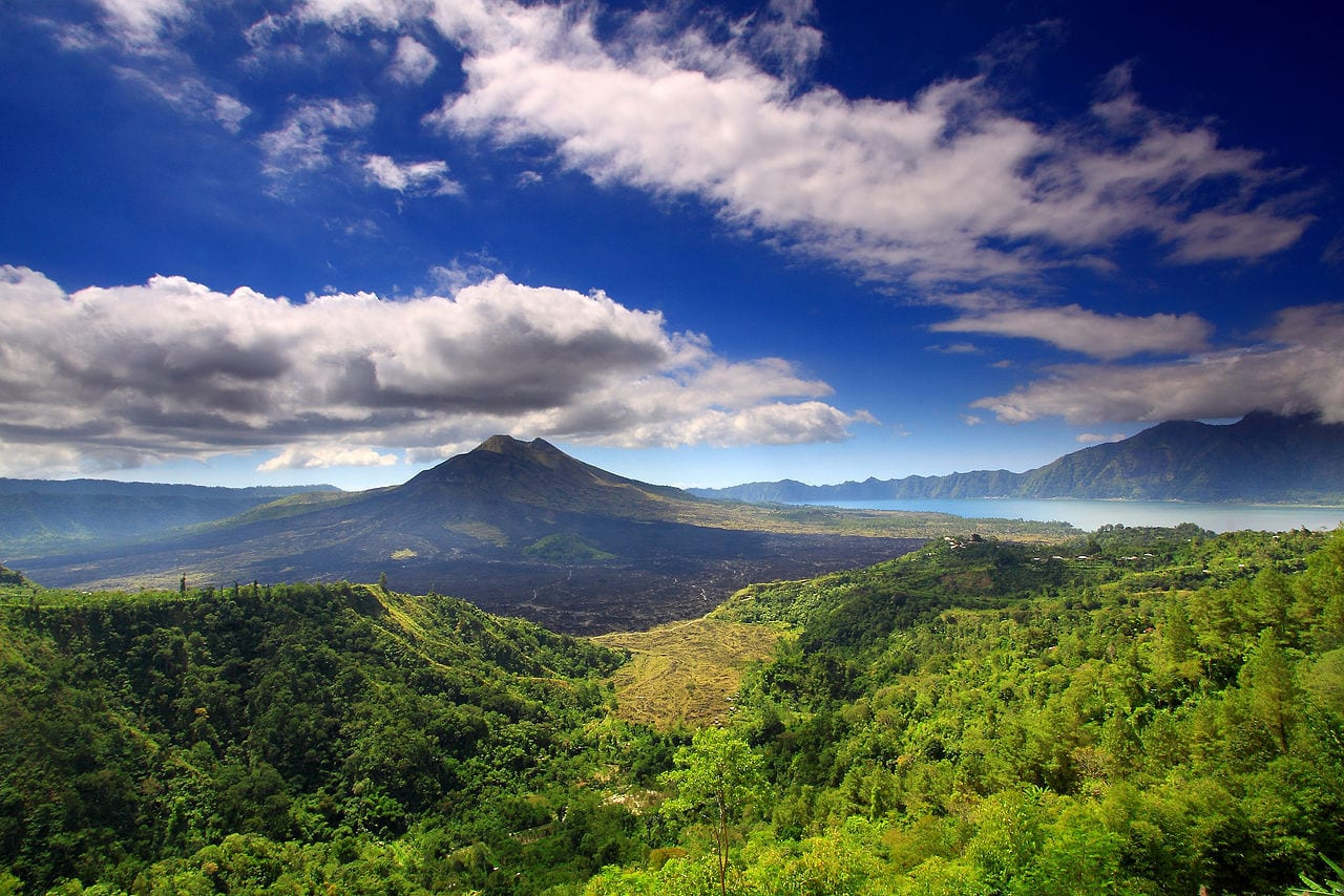 Mount Batur by TropicaLiving Wikimedia Commons