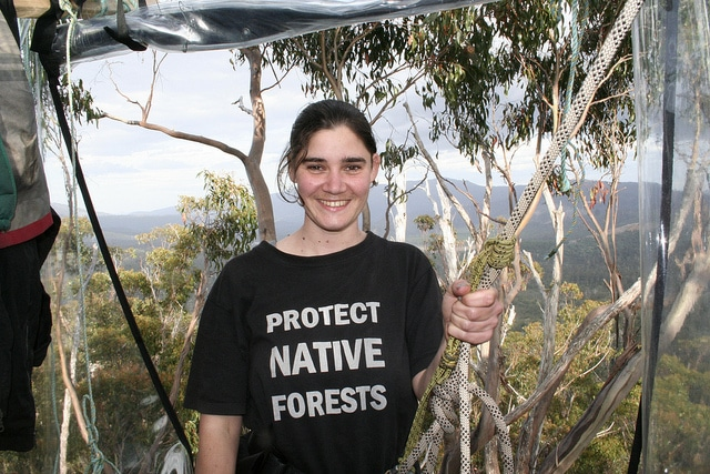 Miranda Gibson, The School Teacher And Tree Sitter Of Tasmania