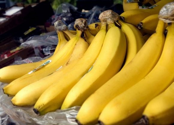 close-up-view-of-a-number-of-ripe-bananas-on-market