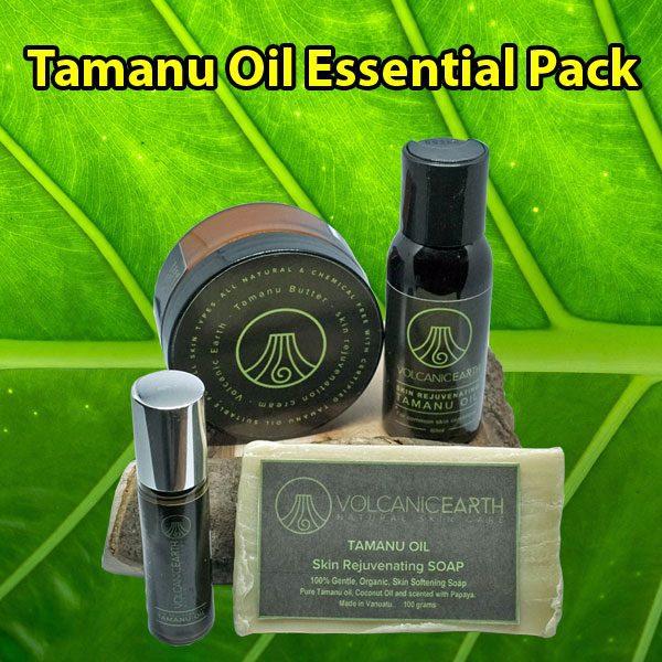 Vanuatu Tamanu Oil Essential Pack