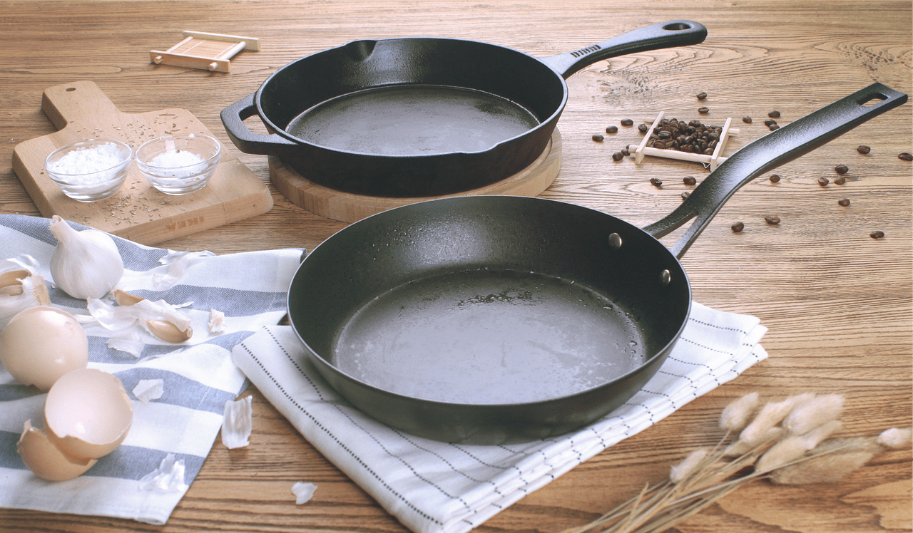 use durable pans instead of the replaceable ones