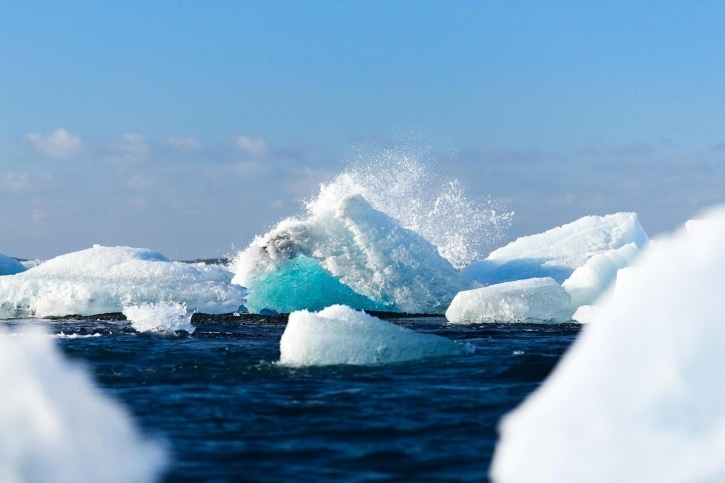 You Might Have Not Know: Icebergs Are Also Melting Underwater