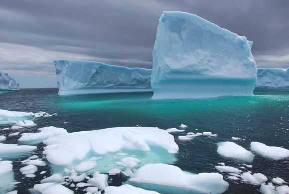 Icebergs (Wikimedia Commons)