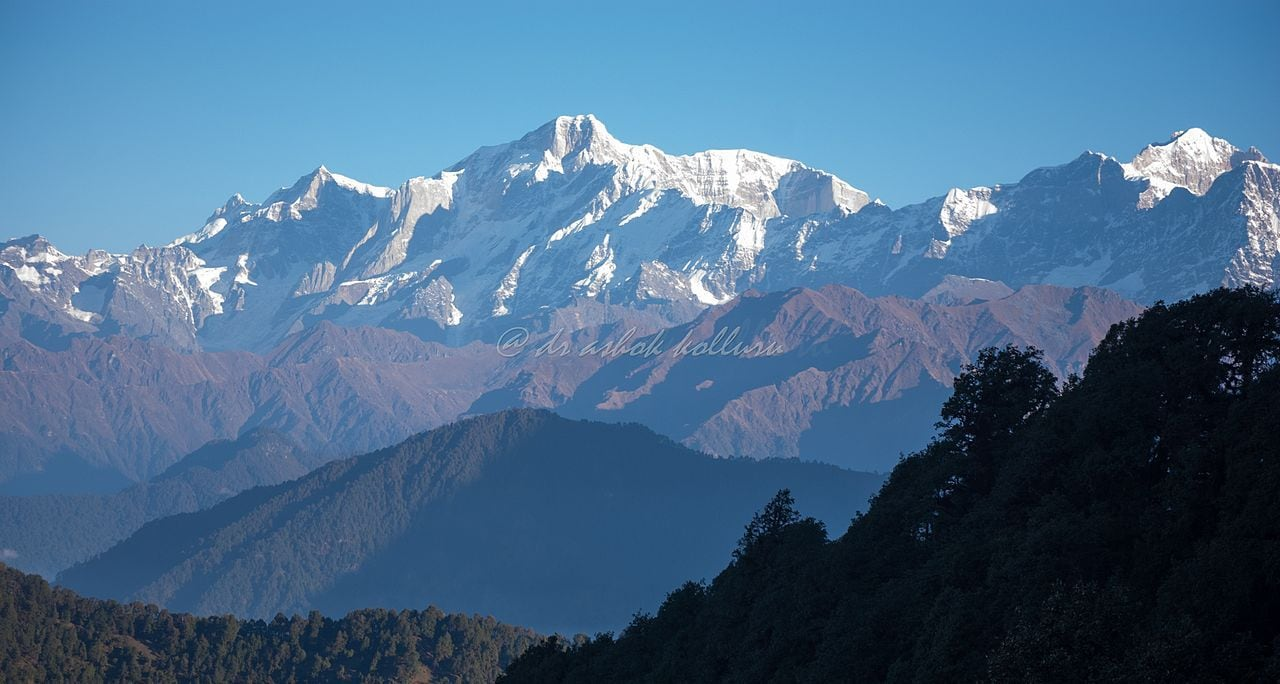 A view from Uttarakhand, India by Mountain Monk Wikimedia Commons