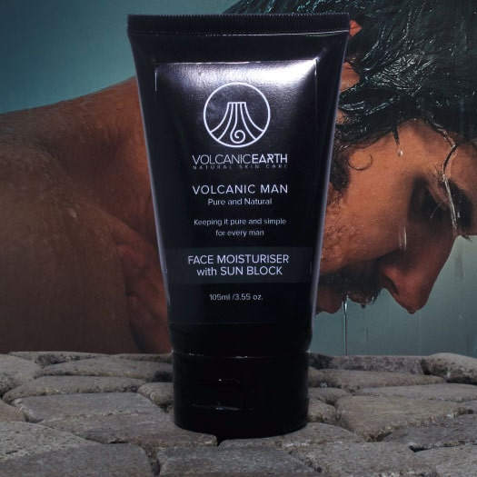 Tamanu Volcanic Man Face Moisturizer with Sunblock