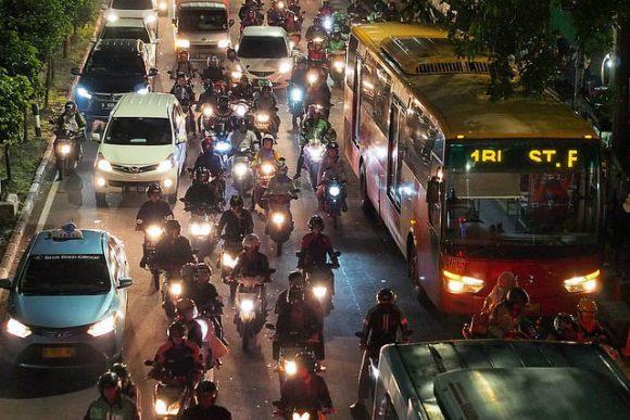 daily jakarta traffic by Martin Alexius