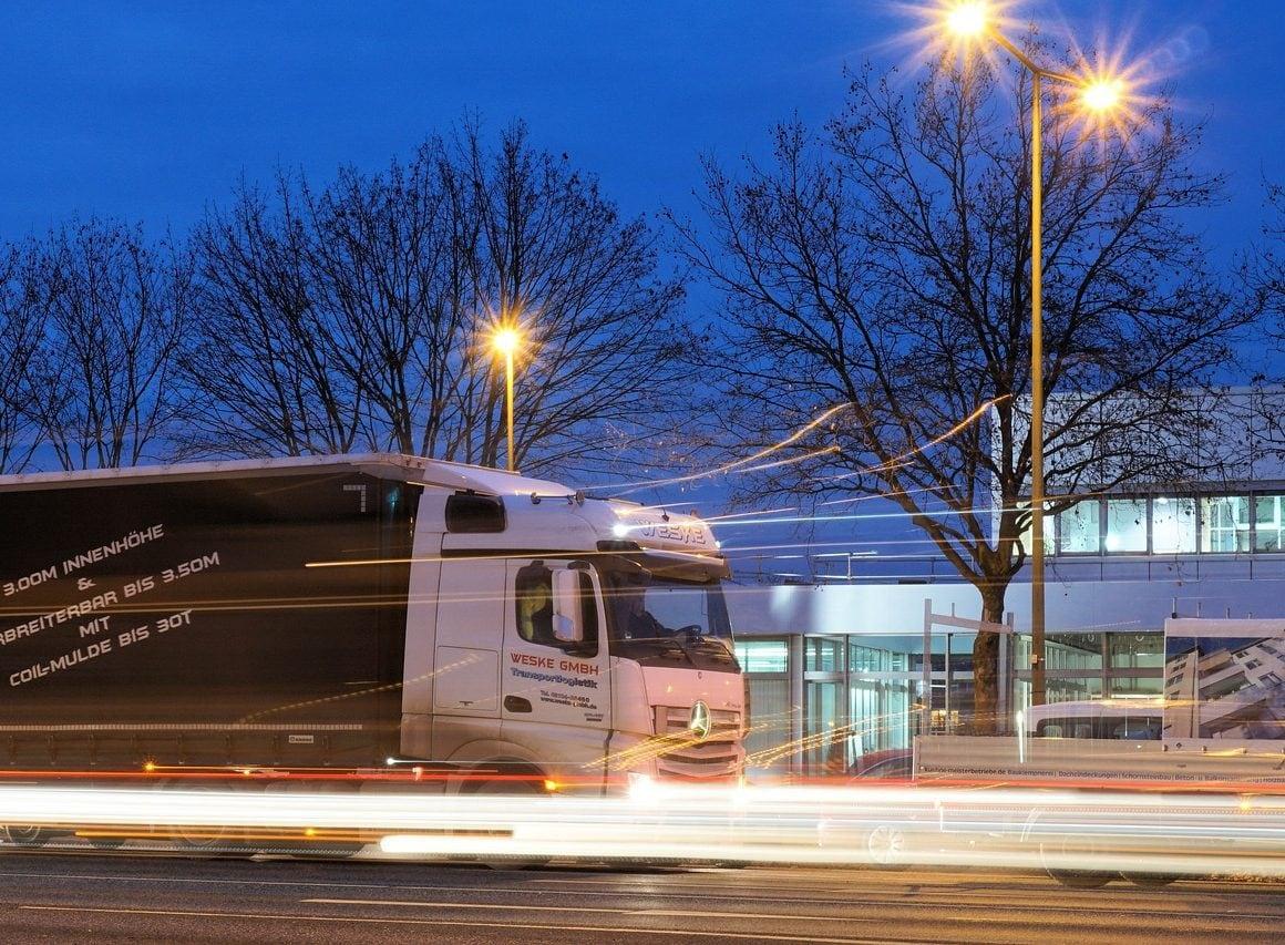 transportation like truck leaves a lot of carbon footprint