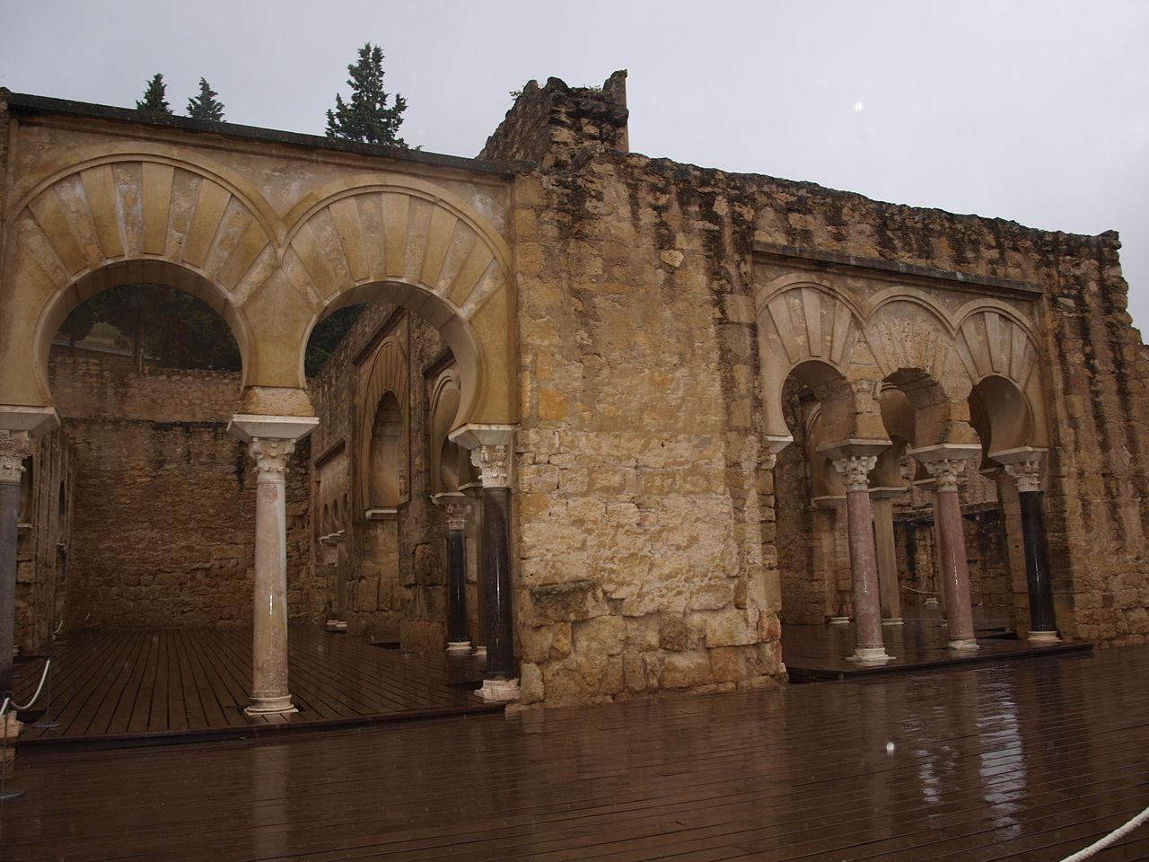 Medina Azahara by Edyta Materka wikimedia commons