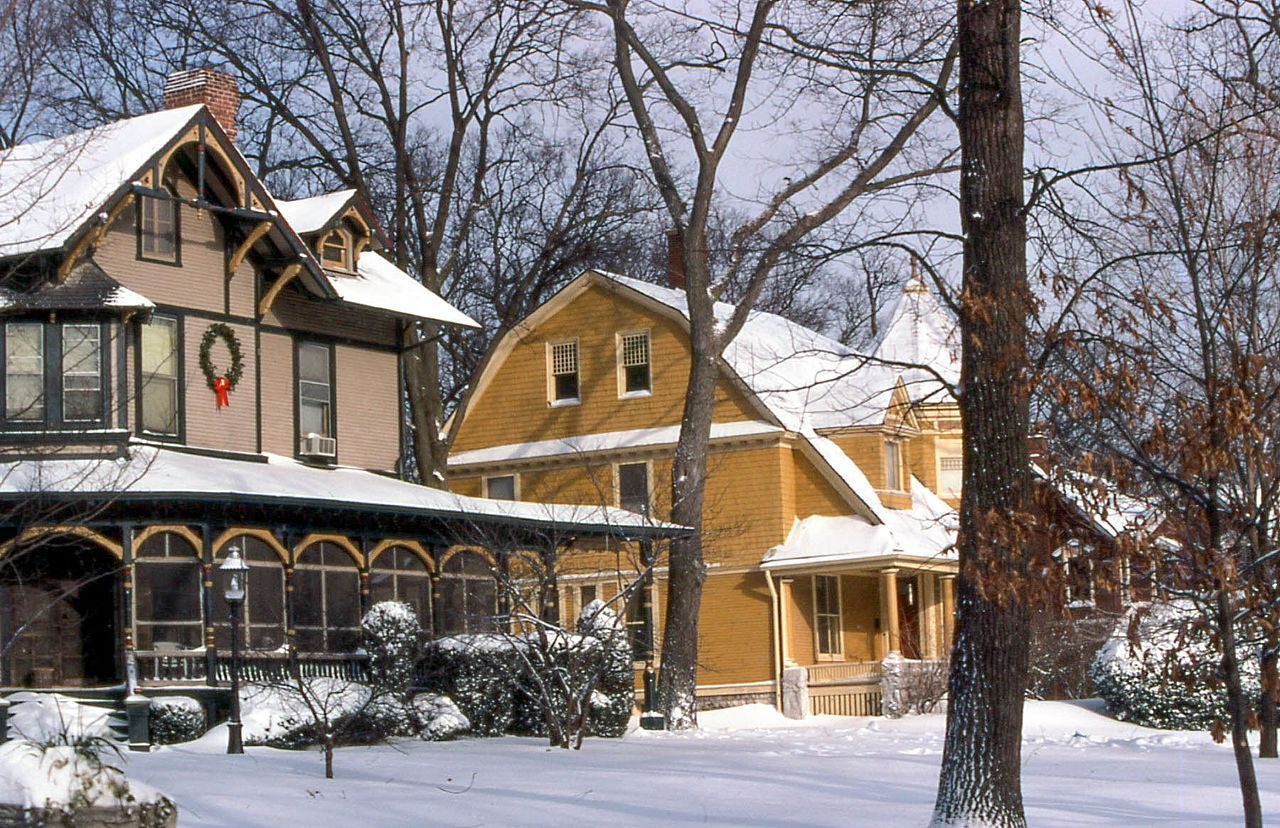Snowy Illinois by David Wilson Wikimedia Commons
