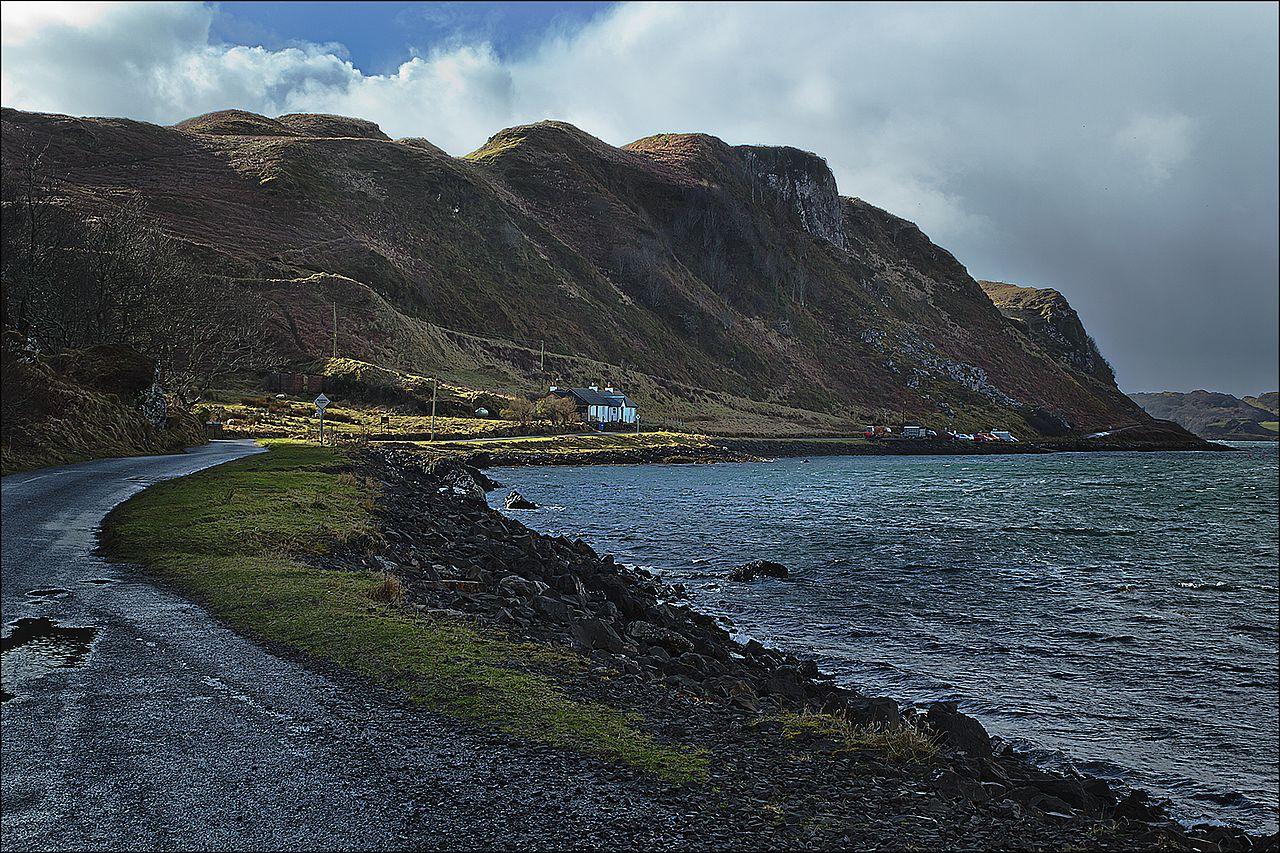 Argyll Coast by Dun Deagh Wikimedia Commons