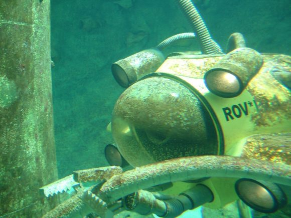Diving Robot Submarine Divers Diving Underwater