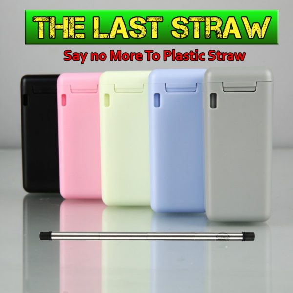 Last Straw No More Plastic Straw