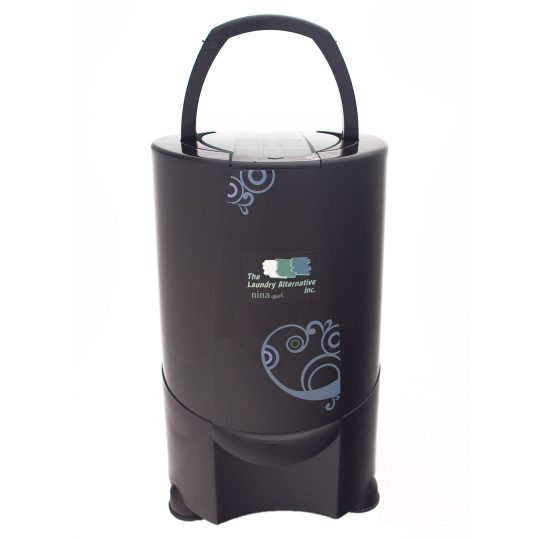 Nina Soft Spin Dryer Laundry Alternative Black