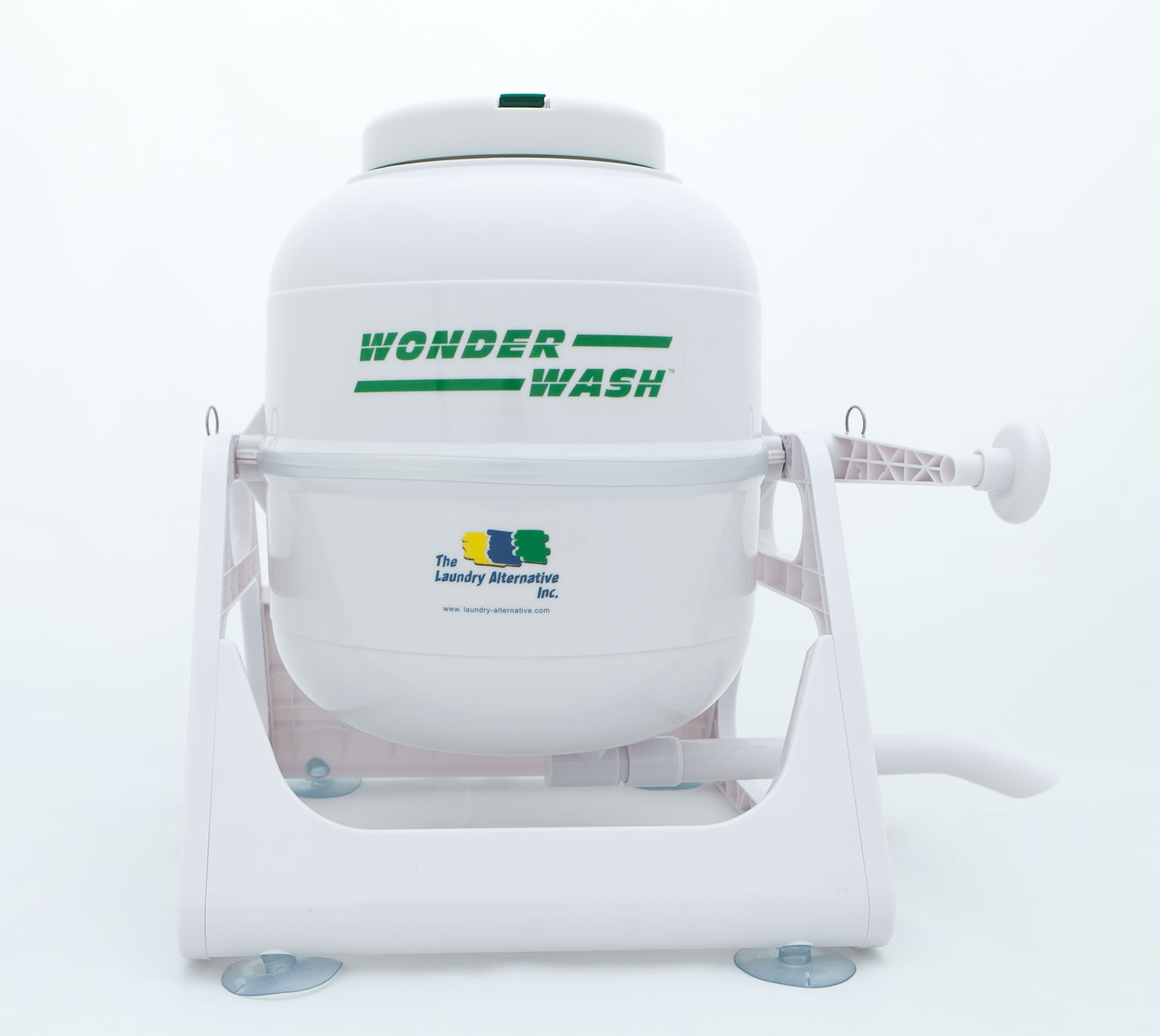Wonder Wash Portable Washing Machine - Clean Dirty Clothes in 2 Minutes