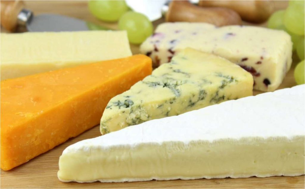various of cheese