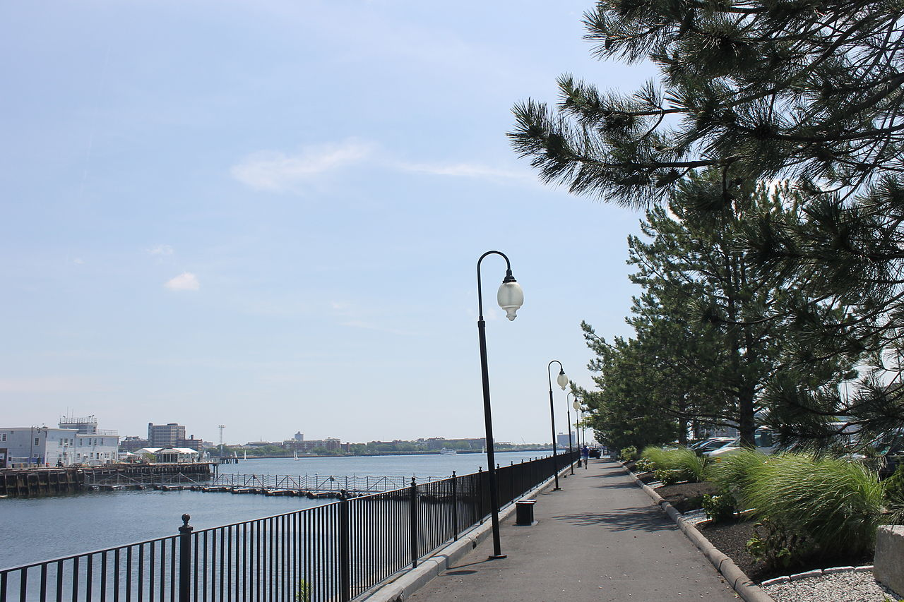 Boston Harbor Walk by Billy Hathorn Wikimedia Commons
